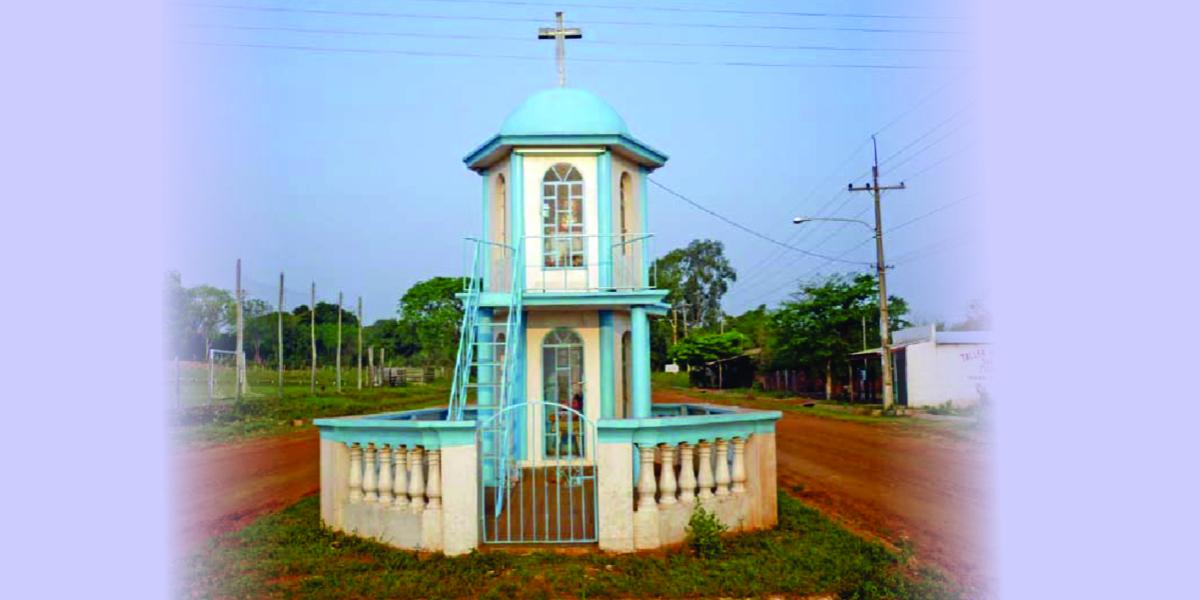 Monumento en el acceso