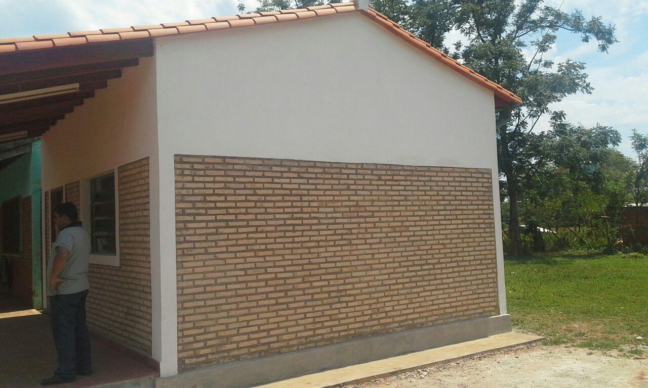 Construcción de Dirección en la Escuela Básica Nº 4934  Virgen del Camino